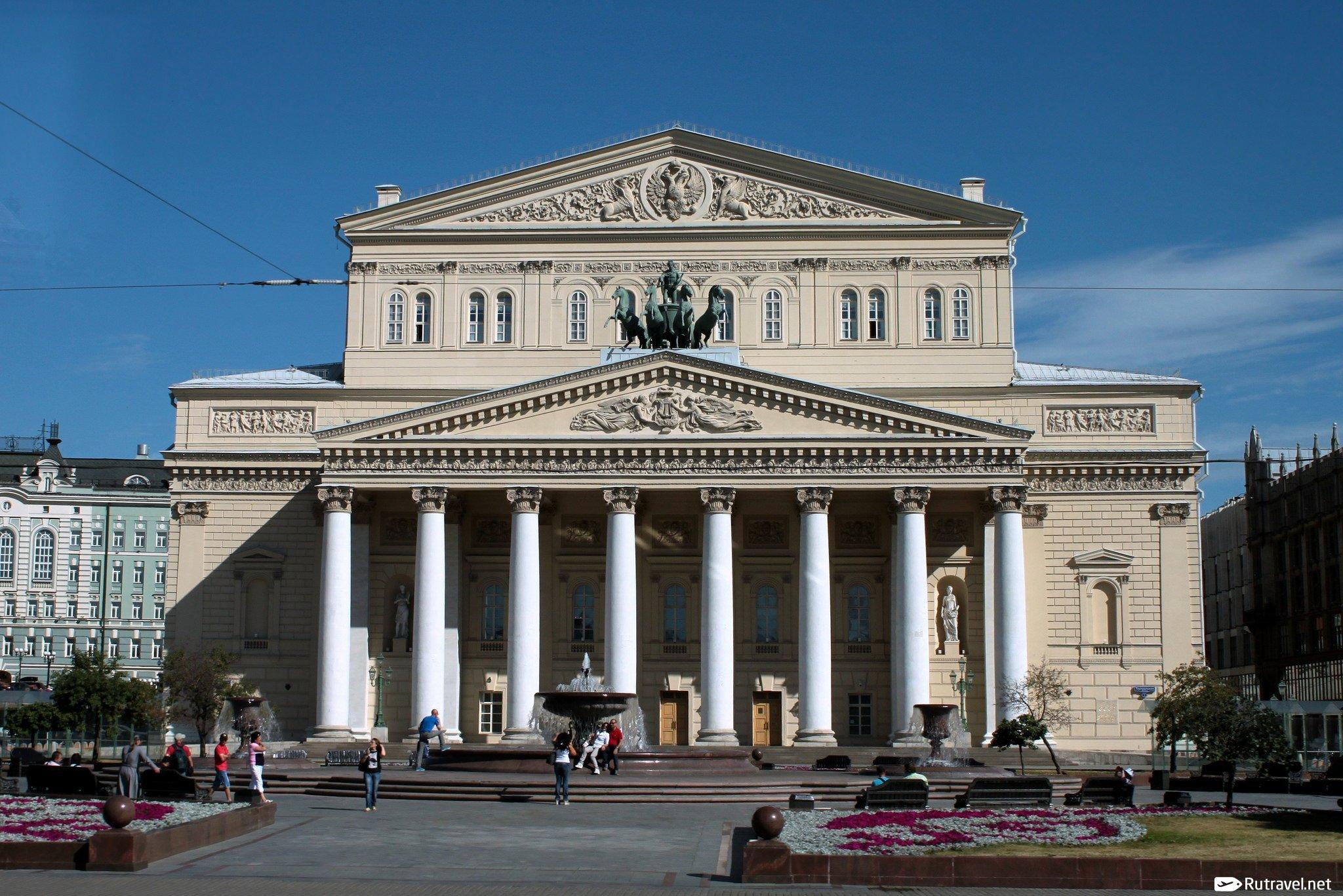 Большой театр адрес где находится время работы  Москва