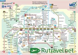 Карты Мюнхена